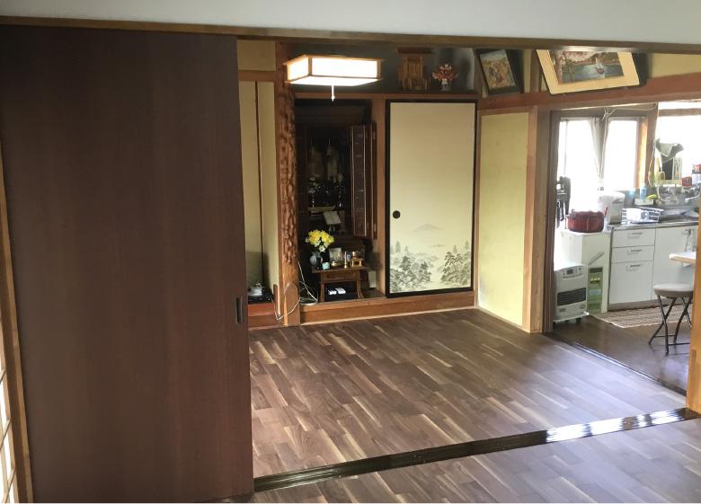 床材の変更 after