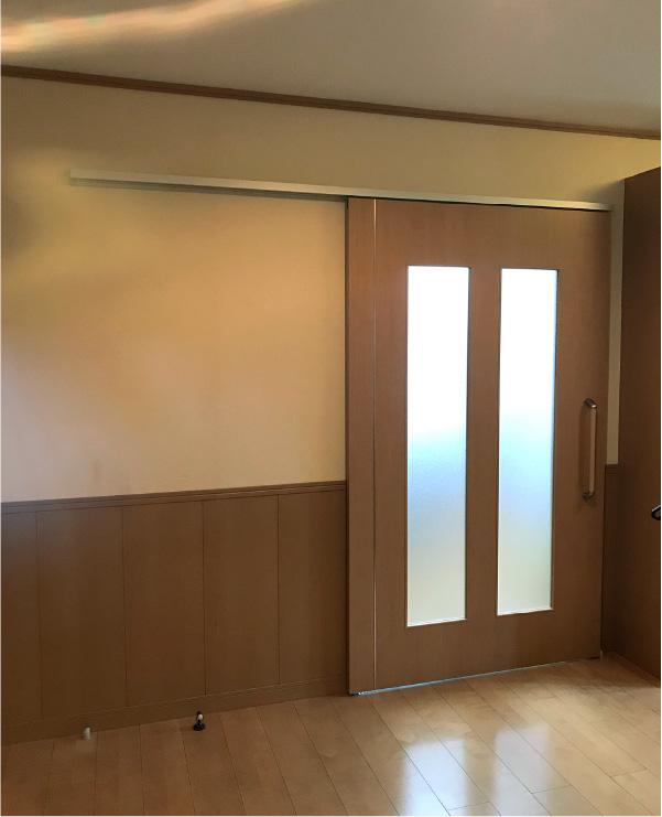 扉の取替え after